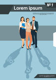 Grupp Team Human Resources för affärsfolk Royaltyfria Foton