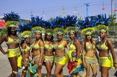 Gruppdansare Fotografering för Bildbyråer
