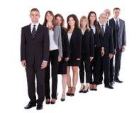 Gruppe überzeugte Geschäftsleute Lizenzfreies Stockfoto