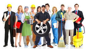 Gruppe Arbeitskraftleute lizenzfreies stockfoto