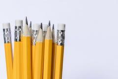 Gruppe Bleistifte stockfoto