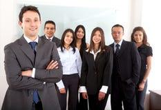 Gruppe Büroangestellte Stockfotos