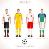 GRUPPE C des EURO-2016 Meisterschaft Stockfoto
