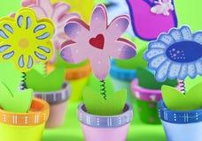 Gruppe dekorative Blumen Stockfoto