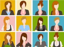 Gruppe der Geschäftsfrau Lizenzfreie Stockfotos