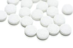 Gruppe des Aspirins Stockfotografie