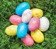 Süßigkeits-Robin-Eier Lizenzfreie Stockbilder