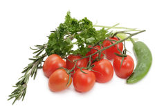 Gruppe des Gemüses Lizenzfreies Stockbild