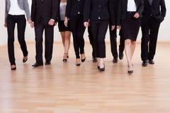 Gruppe des Unternehmensleiternäherns Lizenzfreie Stockfotos