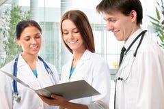 Gruppe Doktoren Lizenzfreies Stockfoto
