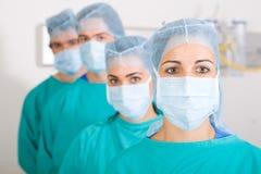 Gruppe Doktoren Stockfoto