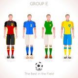 GRUPPE E des EURO-2016 Meisterschaft Lizenzfreie Stockfotografie