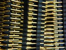 Gruppe elektrische Stifte stockbild