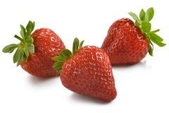 Gruppe Erdbeeren Stockbilder
