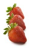 Gruppe Erdbeeren Lizenzfreie Stockbilder