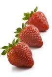 Gruppe Erdbeeren Lizenzfreie Stockfotos