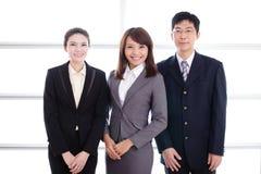 Gruppe Erfolgsgeschäftsleute Stockfotos