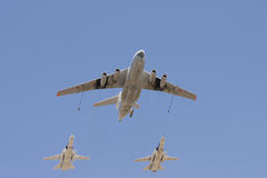 Gruppe Flugzeuge Lizenzfreies Stockbild