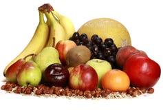 Gruppe Früchte Stockfoto