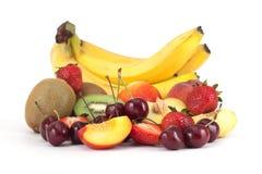 Gruppe Früchte Lizenzfreie Stockfotos