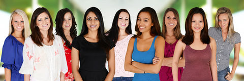 Gruppe Frauen Lizenzfreie Stockfotos