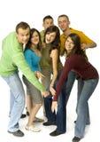 Gruppe Freunde lizenzfreies stockfoto