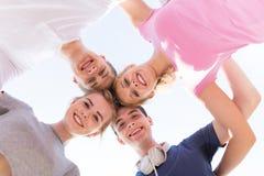 Gruppe Freunde Stockbilder