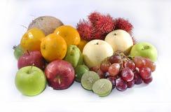Gruppe frische tropische Frucht Lizenzfreie Stockfotografie