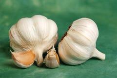 Gruppe garlics Stockfoto