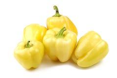 Gruppe gelbe Pfeffer Stockfoto