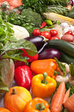 Gruppe Gemüse Lizenzfreie Stockfotografie
