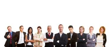 Gruppe Geschäftsleute Lizenzfreies Stockfoto