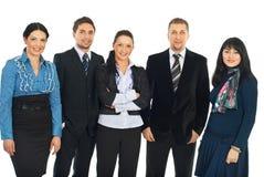 Gruppe Geschäftsleute Stockbild
