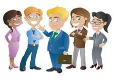 Gruppe Geschäftsleute stock abbildung