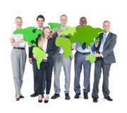 Gruppe Geschäftsleute Gemeinschaftskonzept- Stockfoto