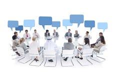 Gruppe Geschäftsleute Treffen Lizenzfreies Stockfoto
