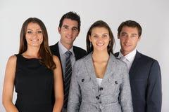Gruppe Geschäftsleute im Büro Stockfotografie