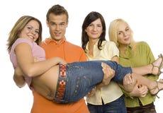 Gruppe Jugendliche Lizenzfreie Stockbilder