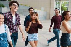 Gruppe junge Leute stockfoto
