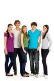 Gruppe junge Leute stockbild