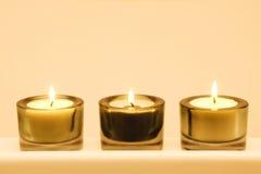 Gruppe Kerzen Lizenzfreies Stockbild