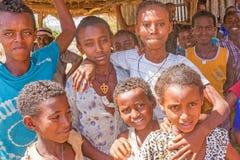 Gruppe Kinder in Äthiopien Lizenzfreie Stockbilder