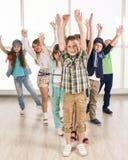 Gruppe Kinder Stockfoto