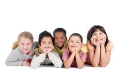 Gruppe Kinder Lizenzfreies Stockbild
