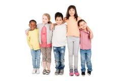 Gruppe Kinder Stockbild