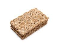 Gruppe knusprige Brote Stockfoto