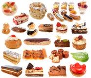 Gruppe Kuchen Stockfoto