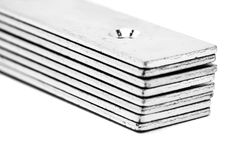 Gruppe Metall-fixators Lizenzfreies Stockfoto