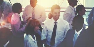 Gruppe multiethnische verschiedene beschäftigte Geschäftsleute Konzept- Stockfotos