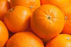 Gruppe Orangenfrucht Stockfotos
